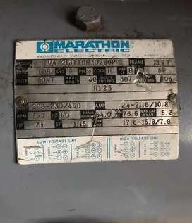 Motor trifásico Marathón electric