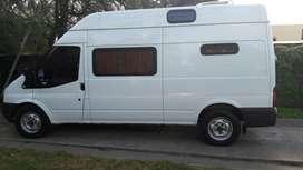 Vendo o permuto !!!  Motorhome Ford Transit Mod.2012 con 43.500 km !!!