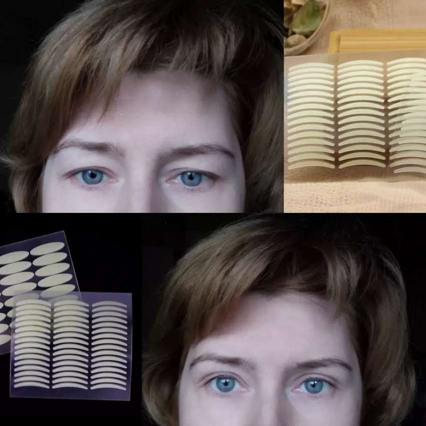 Adhesivo doble párpado , agranda tus ojos 0