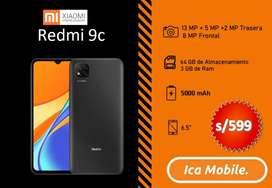 Redmi 9c , oferta nuevos en caja sellada