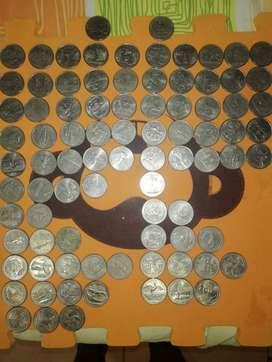 Monedas de 25 centavos