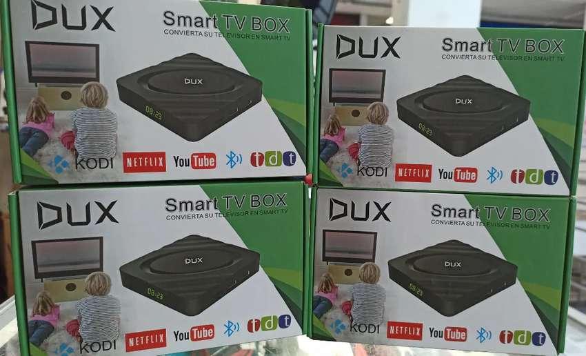 Tvbox 2gb ram 16gb almacenamiento bluetooth full apps tv, YouTube Netflix Smart tv