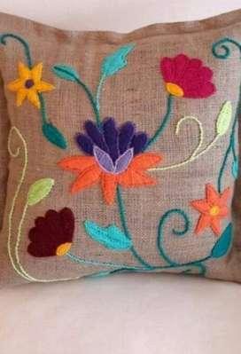 Hermosos bordados hechos a mano