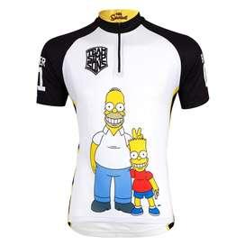 Camisa ciclismo simpson calidad pro