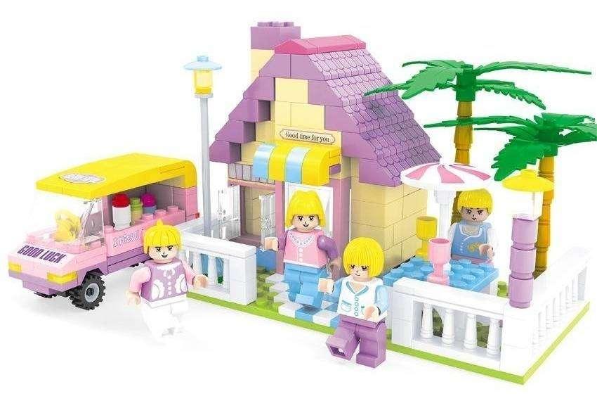 Juguete para armar tipo Lego 0