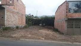 Lote comercial de 9 x 20, barrio las Puertas, Pacho Cund.