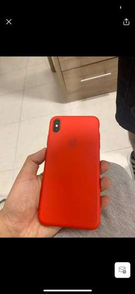 Silicon Case para iphone XS MAX, X y 7 plus