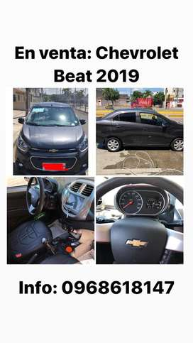 Vendo chevrolet beat 2019