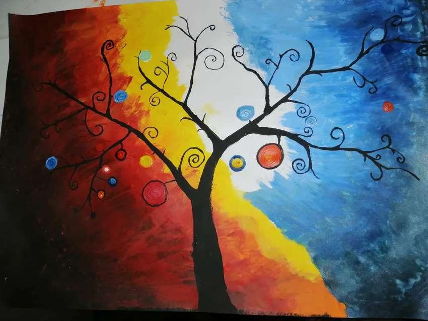Pinturas con acrílico 0