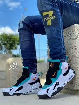Zapato Tennis Deportivo Bota Botin Nike Air  Para Hombre