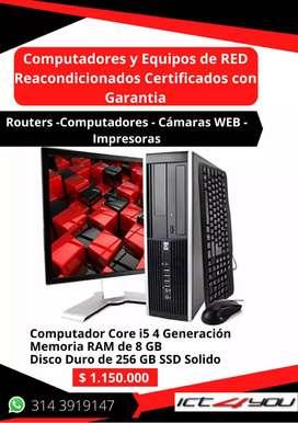 Computador Core i5 Ram 8 SSD 256
