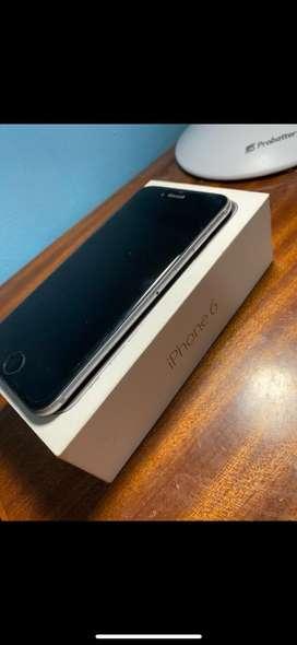 lphone 6 en caja con accesorios