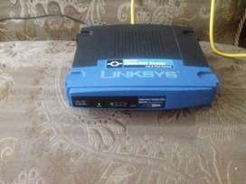 Router Cisco Linksys 4 Ports