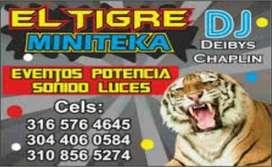 Alquiler de Minitecas El Tigre Efectos