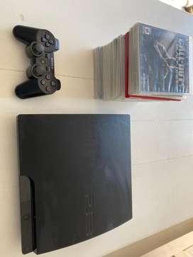 Playstation 3 + 1 joystick + 12 juegos fisicos