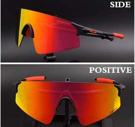 Gafas ciclismo oakley negras lentes extra
