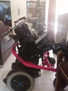 Silla motorizada sistema jostick
