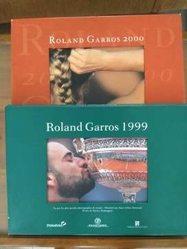 Libros de Fotos Roland Garros 1999-2000