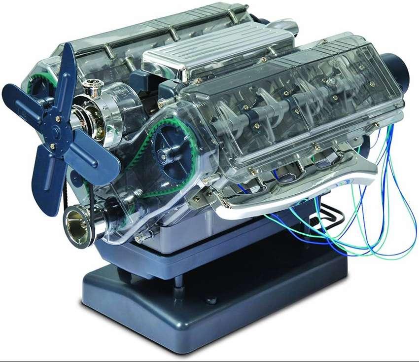 Juguete Trends UK Haynes, construye tu propio motor V8 0