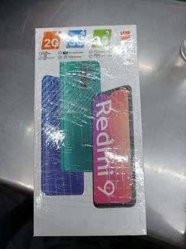 Xiaomi Redmi 9 (64 GB) 4 GB RAM nuevo en caja