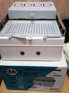 Máquina para moldear el fomix