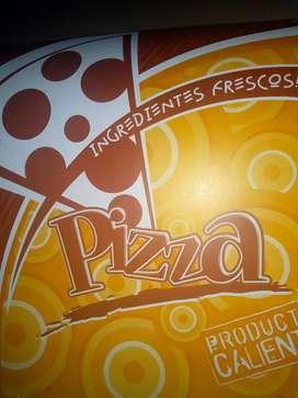 Pizza, lasagna, maicitos.