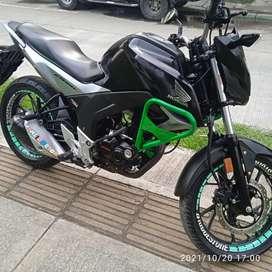 Vendo motocicleta Honda CB160F en perfectas condiciones