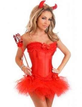 Corset Rojo Carnavalero