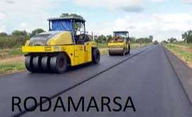 minicargadora 10 x 16.5 solid tire MACIZA + LLANTA Minicarg. Rodamarsa