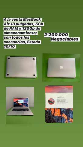 MacBook Air 13 pulgadas Early 2015