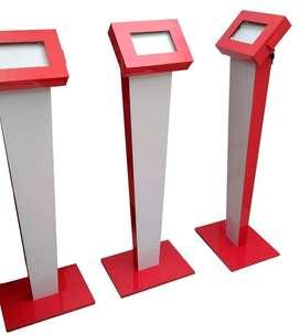 Pedestal Porta Tablet