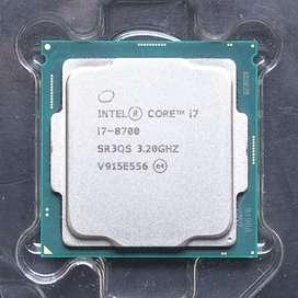 procesador core i7 8700