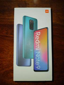 Redmi Note 9 Perfecto estado.