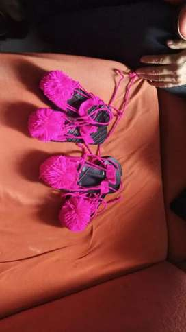 Chanclas rosa