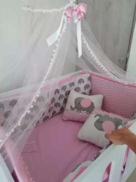 Cama nido, lencería incluida