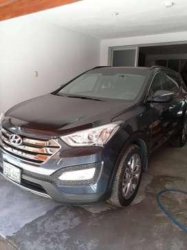 Se vende camioneta cerrada marca Hyundai – Santa Fe Serie Full