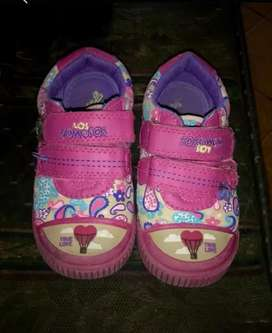 Zapatos los gomosos talla 25 niña