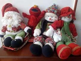 Figuras navidad y juguetes se venden las 4 en 100mil