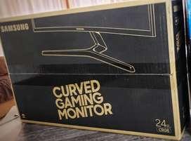 Monitor Samsung 24 144hz Curvo C24rg50 Nuevo en caja