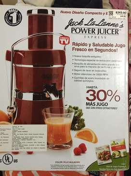 Power juicer extractor de jugos
