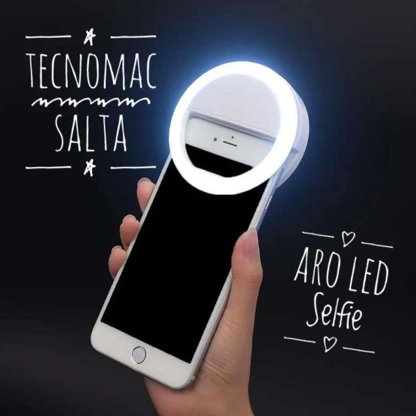 Aro led selfie para celulares