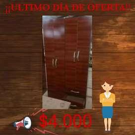 Placard 4 puertas OFERTA