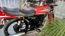 Vendo o cambio moto esta recién pintada u sus partes nuevas