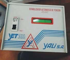 Estabilizador y elevador de tensión YET-5000