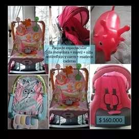 Paquetes de accesorios de bebé ( niña)
