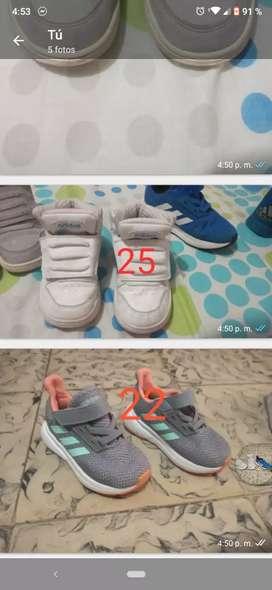 Vendo zapatos de niña y niño
