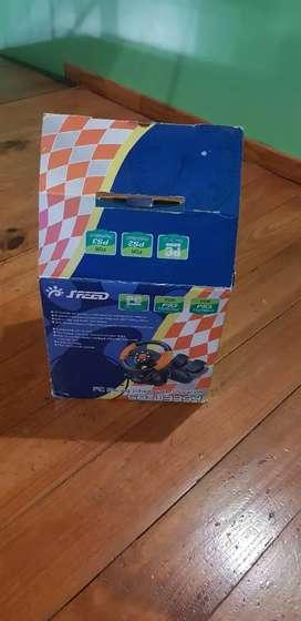 Volante para PS3/PS2/PC