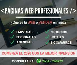 Diseño Web Profesional · Low Cost