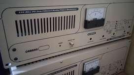 canal TV VHF Transmisor CH 7 13 150 vatios pico
