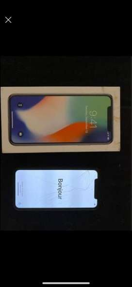 Iphone x 64gb blanco (detalle)